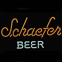 17f38c22e16af0 Schaefer Bier Logo Pub Display Winkel Bar Neonreclame Cadeau Snelle  verzending